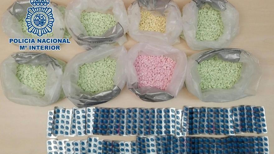 (CORR) Detenido en el Puerto de Santander un británico que pretendía introducir 16.000 pastillas de éxtasis en España