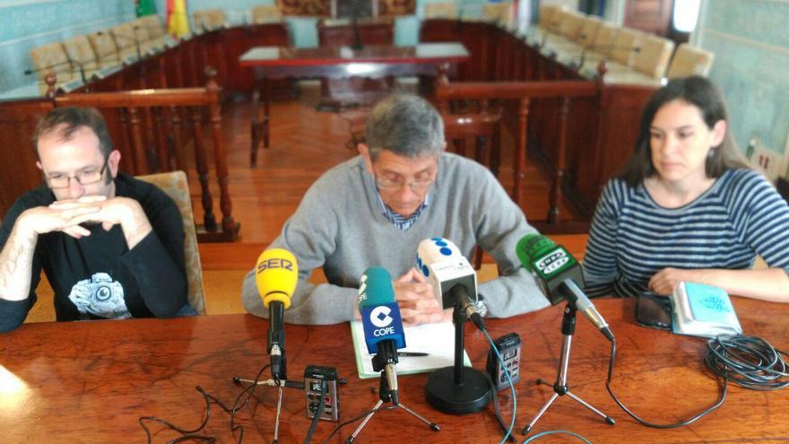 Humberto Bilbao, Ángel Díaz-Munío y Elena García Lafuente.