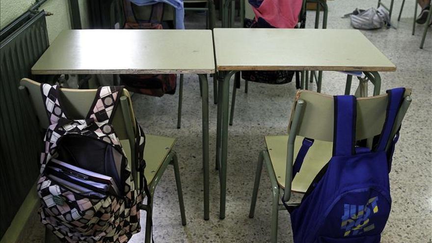 La huelga educativa en Baleares cumple su novena jornada. \ EFE