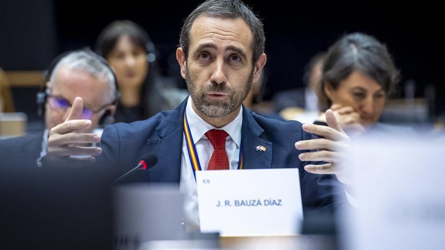 Archivo - El eurodiputado de Ciudadanos José Ramón Bauzá.