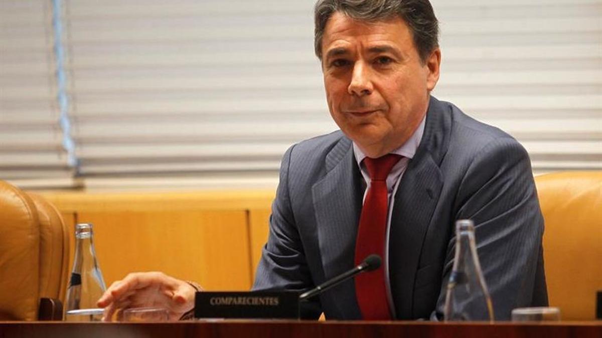 El exvicepresidente de la Comunidad de Madrid Ignacio González