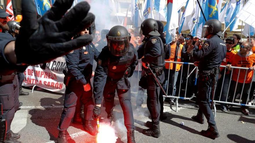 CCOO pide archivar la investigación a los sindicalistas por la protesta de Alcoa
