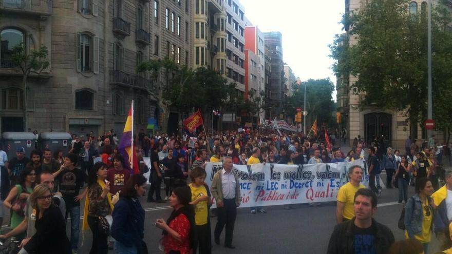Manifestación contra la troika en Barcelona / Joao França