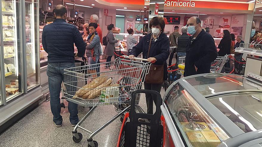 Colas en los supermercados en la segunda semana de marzo | MADERO CUBERO