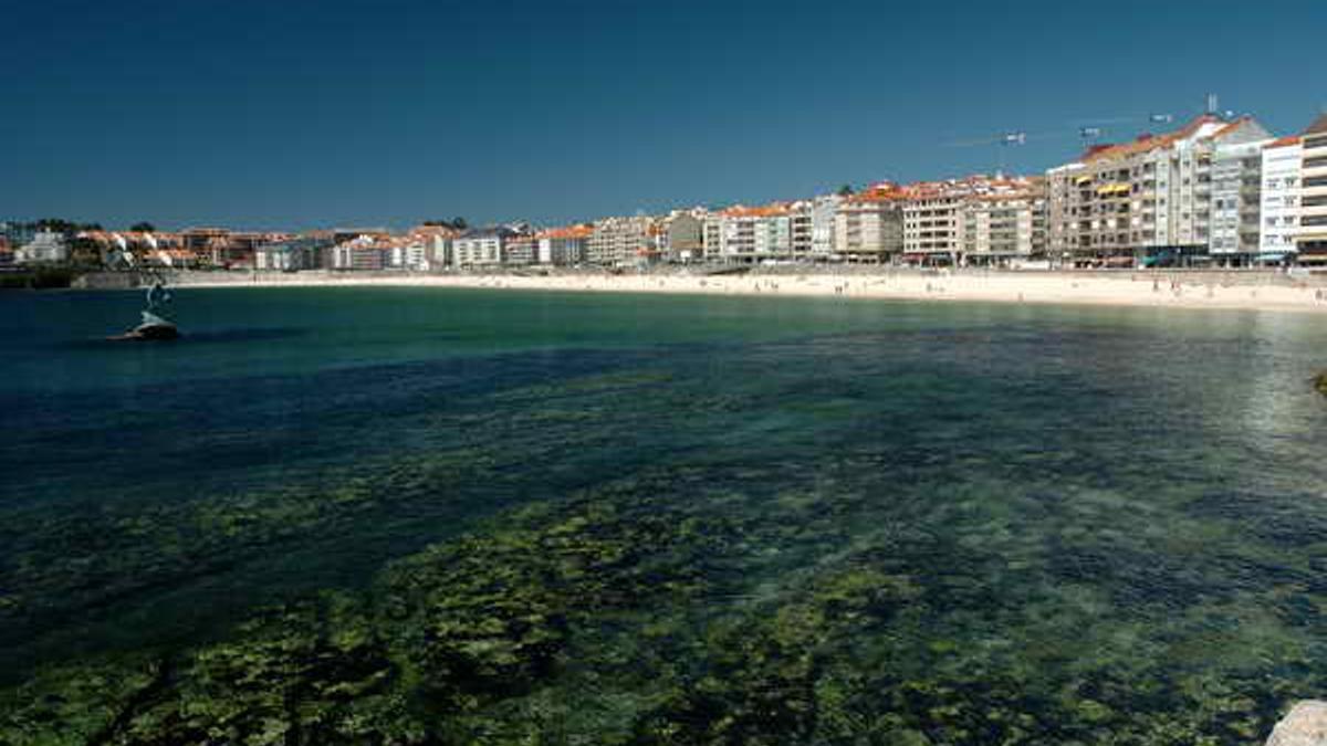 Vista de Sanxenxo (Pontevedra)