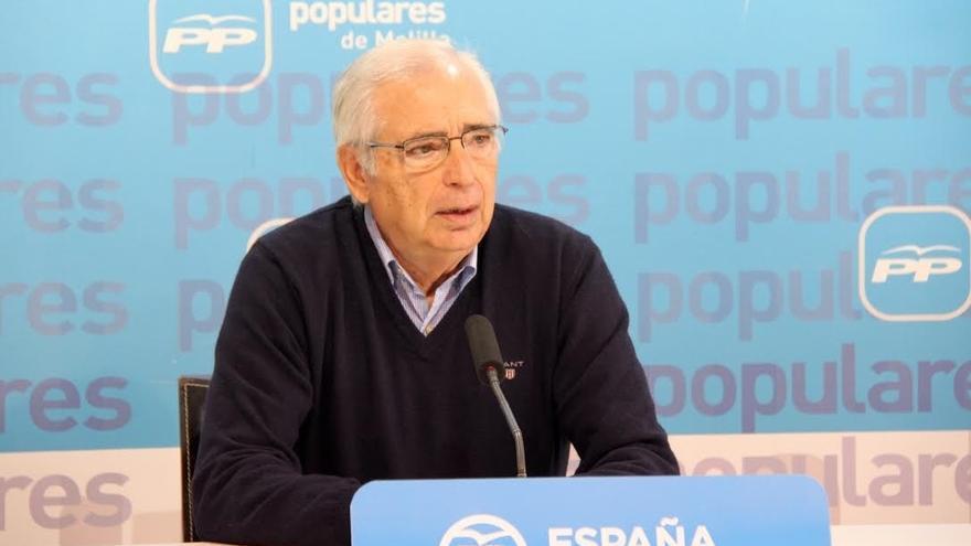 """Imbroda pedirá Rajoy en su visita a Melilla que apoye el """"despegue económico de la ciudad"""""""