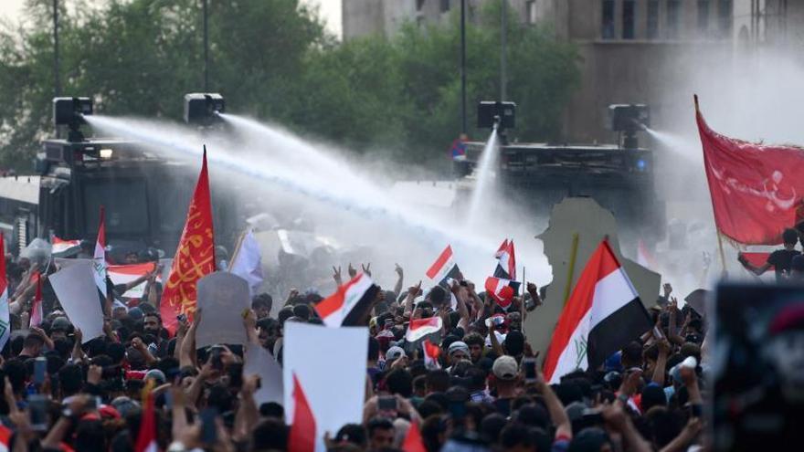 Irak anuncia acciones contra las fuerzas que reprimieron las protestas en Bagdad