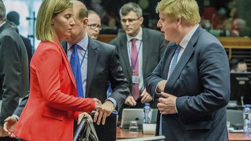 Mogherini recuerda que ningún país con pena de muerte puede ser miembro de UE