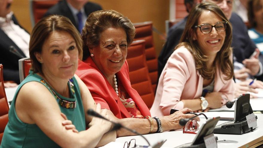 El PP del Senado se remite a lo que explique Barberá, mientras debe decidir si vuelve a hacerla presidenta de Comisión