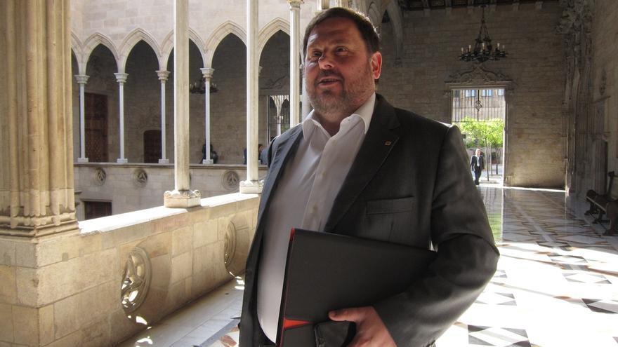 Junqueras pide la dimisión de Rajoy por estar al tanto de lo que hacían Interior y la OAC
