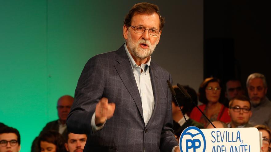 """Rajoy reivindica al PP como el partido """"de los resultados y de la economía"""" frente a quienes """"no han gobernando nunca"""""""