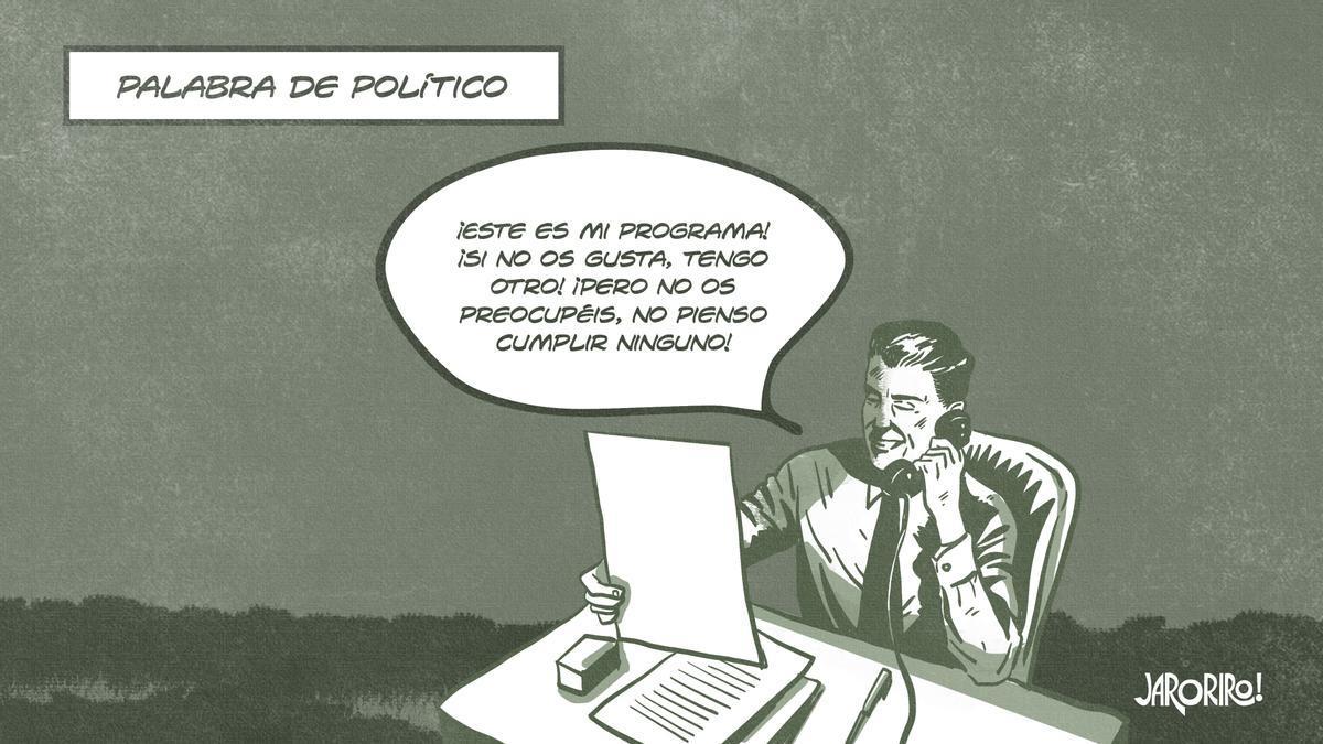 Palabra de político