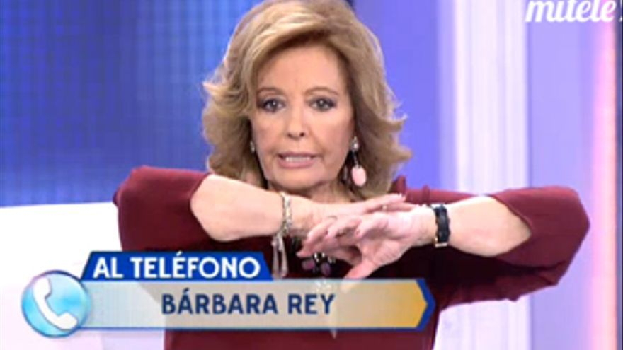Bárbara Rey llama a 'QTTF' para abroncar a Mariñas y advertir a la Campos sobre él