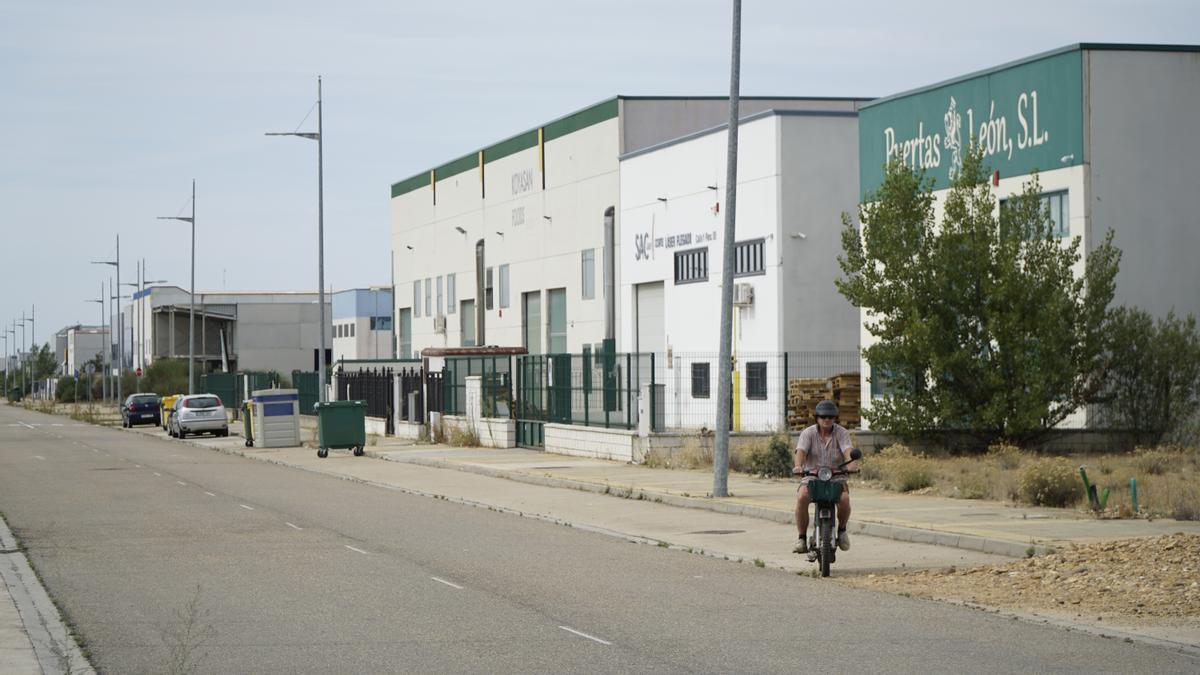 Polígono industrial de Villadangos del Páramo (León)