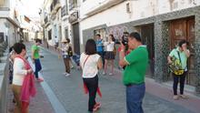Turistas asiáticos en Mérida