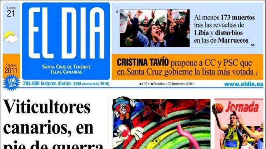 De las portadas del día (21/02/11) #3