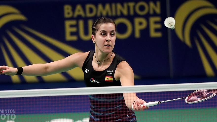 La onubense Carolina Marín es muy superior a sus rivales europeas.