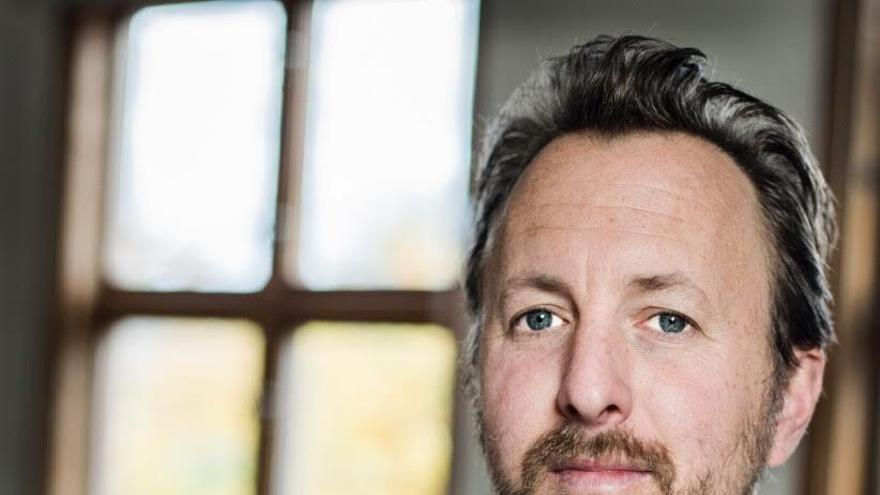 El escritor sueco Danny Wattin, quien participará en La Mar de Músicas