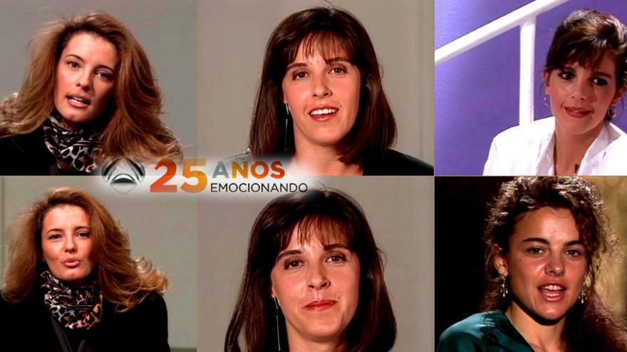 Ana Blanco y Paula Vázquez, como nunca las viste: su primer casting en Antena 3