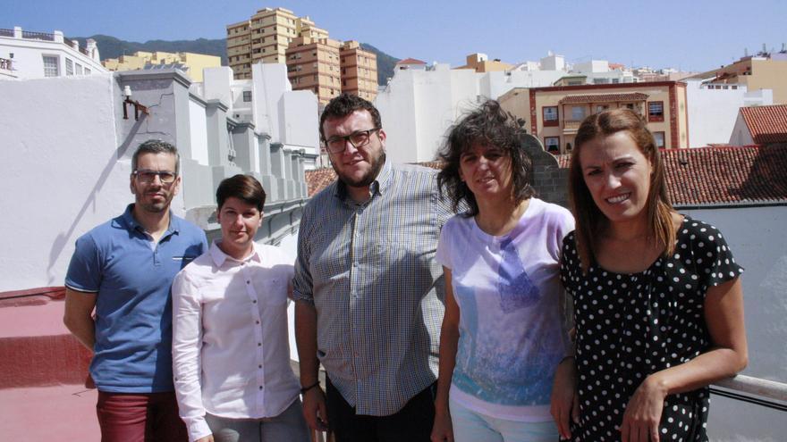 Reunión de trabajo para la organización del Festival de la Garimba.