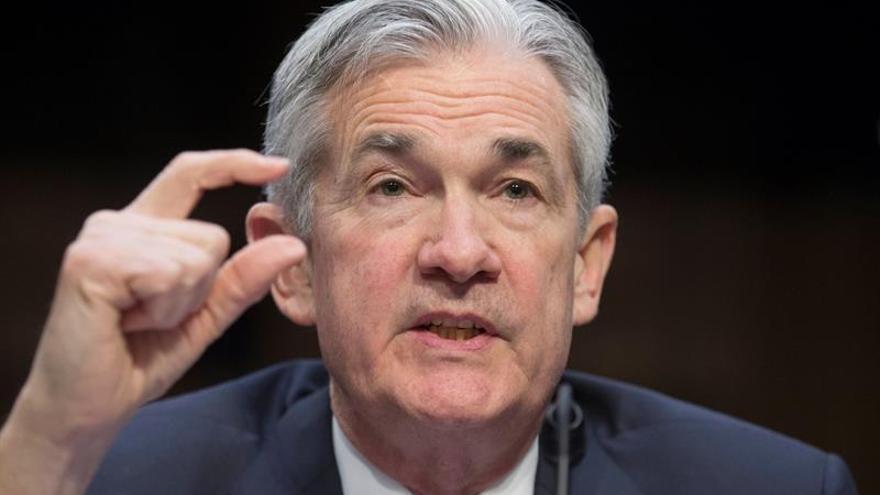 Jerome Powell, presidente de la  Reserva Federal de EEUU.