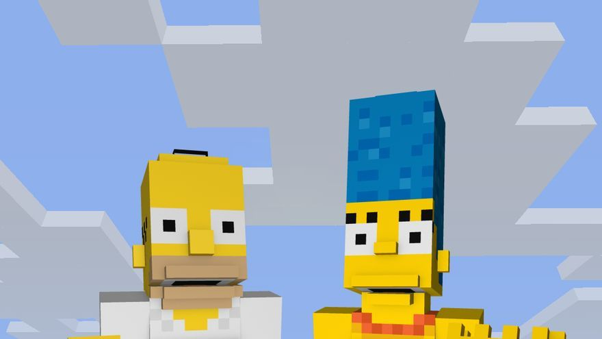 Simpson Minecraft