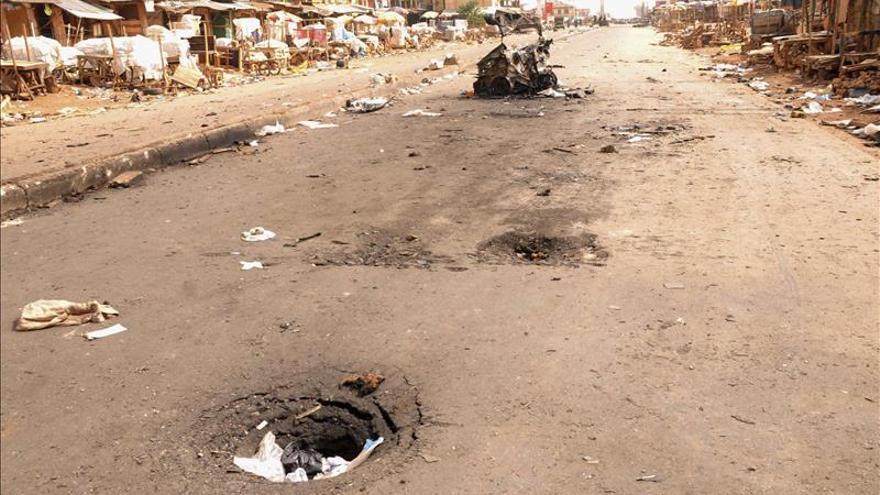 Una fuerte explosión sacude un concurrido mercado en el norte de Nigeria