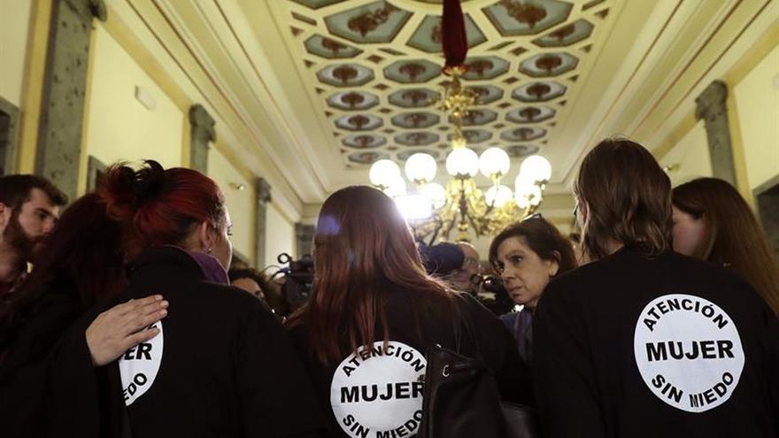 Las mujeres en huelga de hambre urgen al Senado un pacto contra la violencia machista