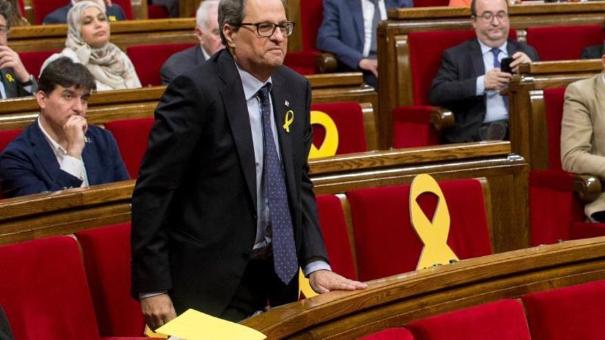 Torra será investido hoy presidente de la Generalitat con la abstención de la CUP