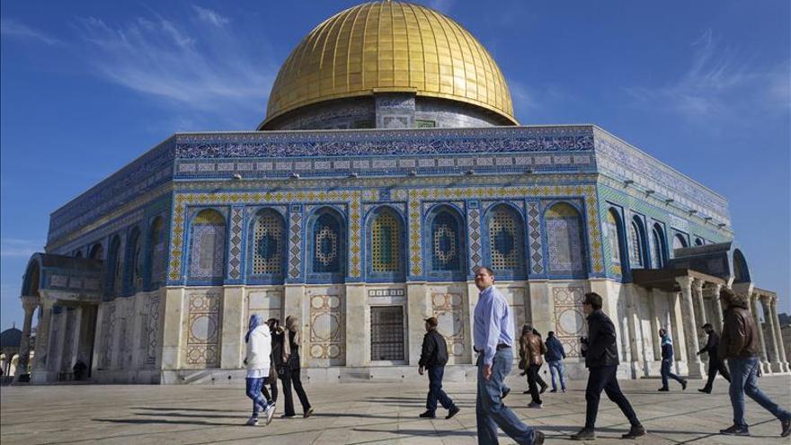 Jerusalén vive una pobre Navidad sin turistas por la violencia