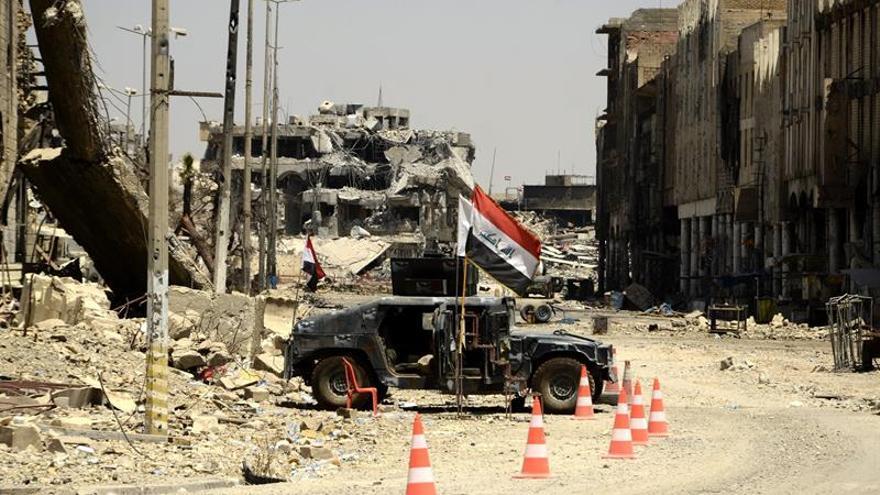 Mueren decenas de yihadistas del EI en bombardeos al sur y al oeste de Mosul
