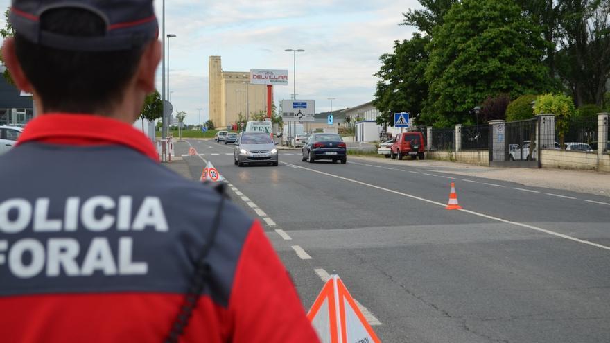 Policía Foral controla más de 55.000 vehículos en las dos últimas campañas especiales de tráfico