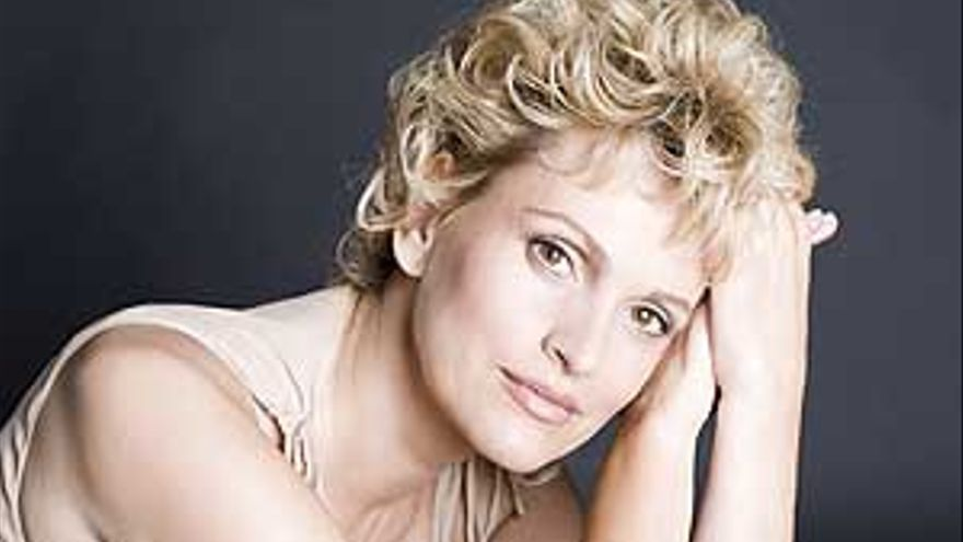 La soprano Ainhoa Arteta.