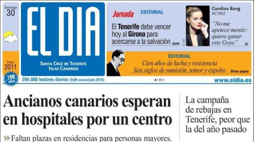 De las portadas del día (30/01/2011) #3
