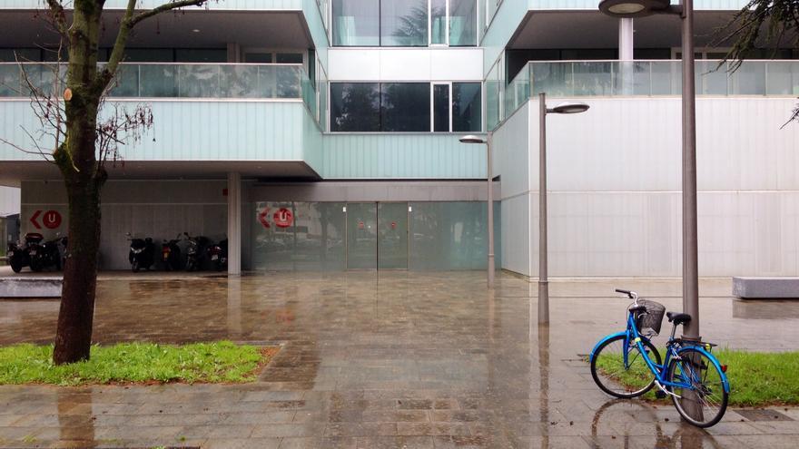 El edificio de las nuevas Urgencias unificadas del CHN.