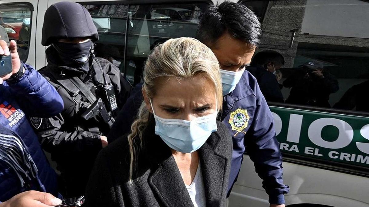 Áñez asumió la jefatura del Estado después del golpe contra Evo Morales en noviembre de 2019