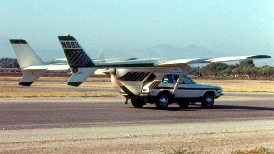 El AVE Mizar en el aeropuerto de Oxnard en 1973 (Foto: Doug Duncan | SmugMug)