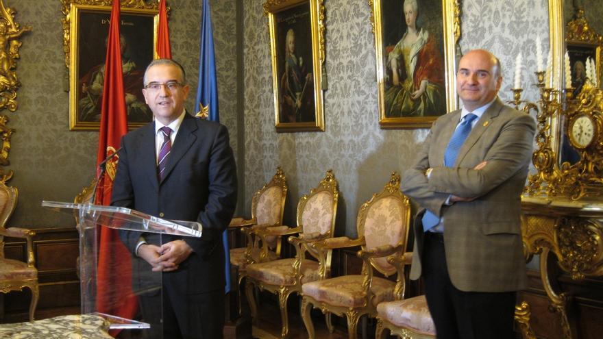 """Alcalde Pamplona defiende """"respetar los estatutos"""" en UPN y critica a quienes hablan de """"una elección a dedo"""""""