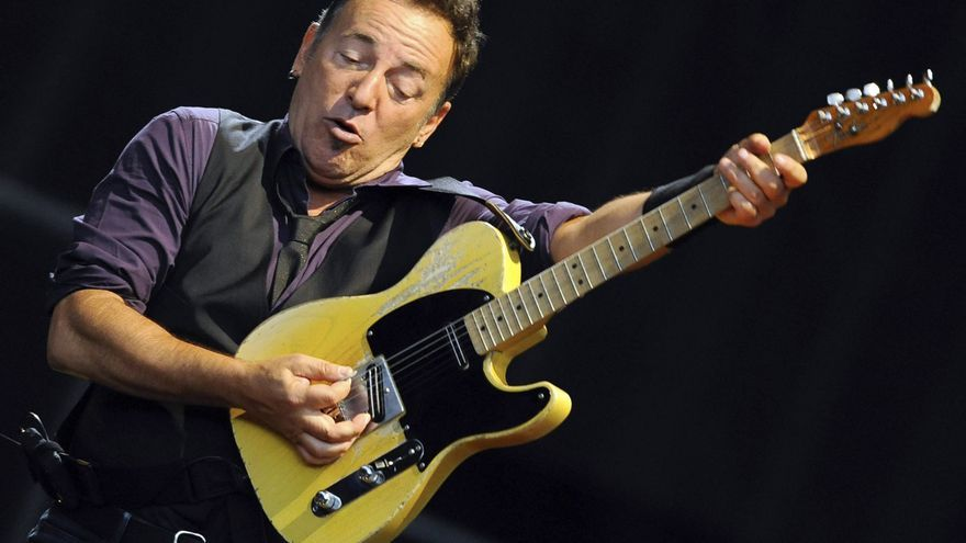 Bruce Springsteen se unirá a Bill Clinton en un acto en favor de Obama