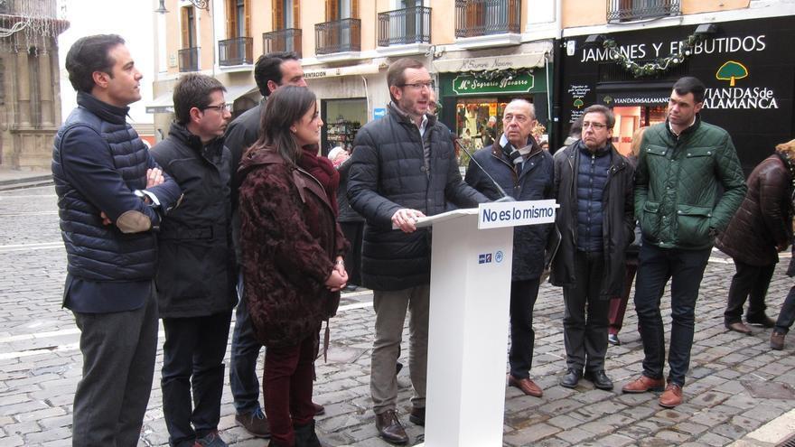 """Maroto dice que hoy se verá a un Pedro Sánchez """"muy nervioso"""" frente a un Mariano Rajoy """"que va a dar confianza"""""""