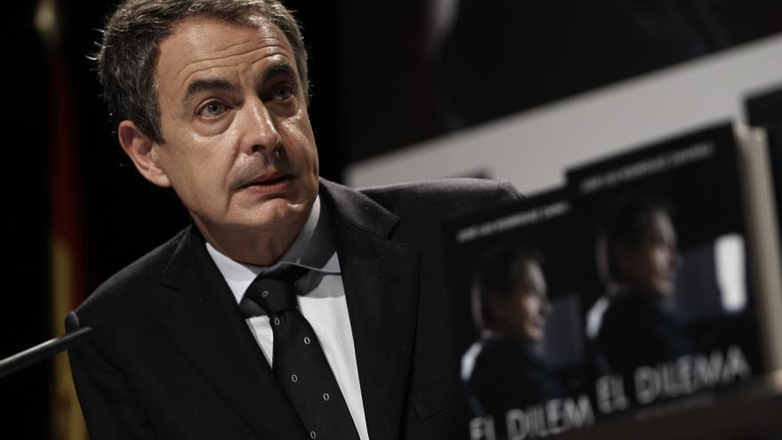 """Zapatero traslada todo su apoyo a Rubalcaba y subraya que """"nadie duda de sus cualidades políticas"""""""