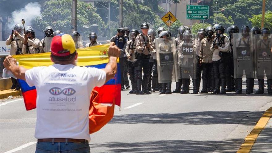 Opositores se concentran en Caracas y el resto del país para nuevas protestas