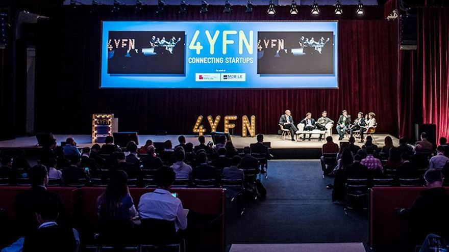 Una de las presentaciones en Four Year For Now. Foto: FYFN/MWC