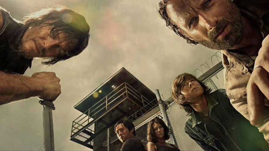 Los protagonistas de 'The Walking Dead' en la 4º temporada