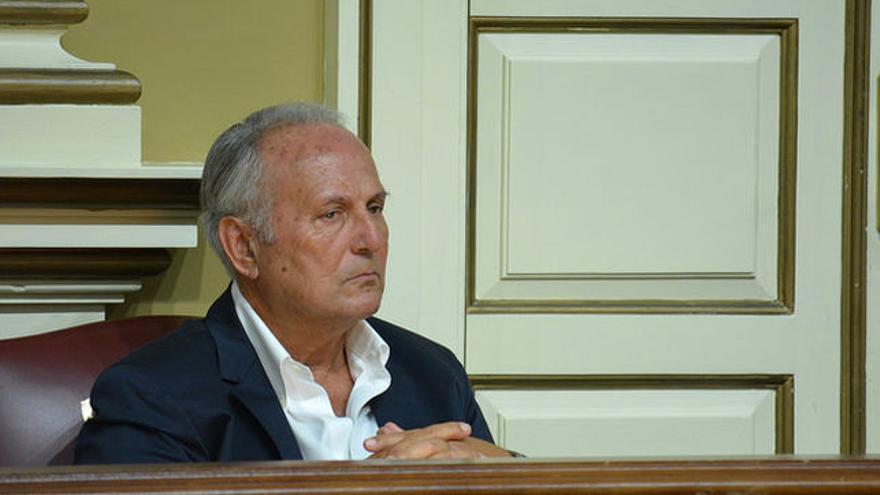 Juan Manuel García Ramos, diputado autonómico y presidente del PNC