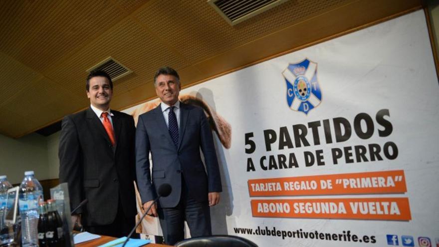 Presentación de nuevas iniciativas del CD Tenerife para atraer espectadores (Web oficial CD Tenerife)