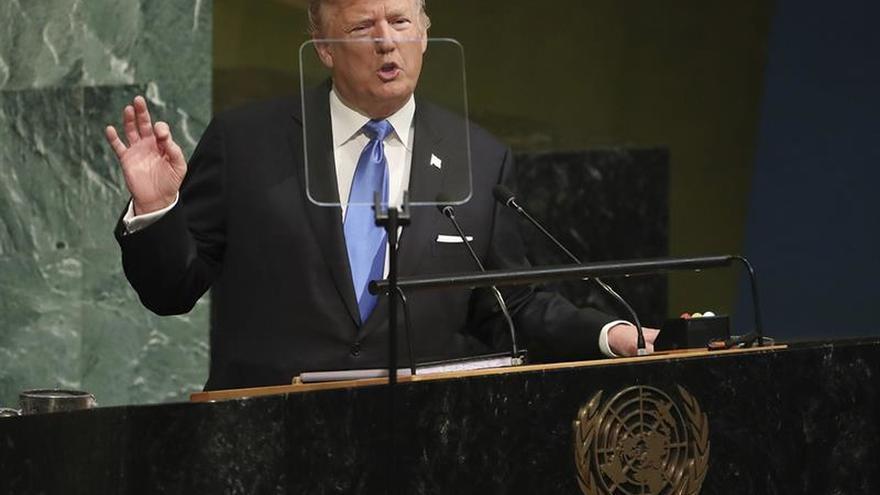 """Trump dice que la única opción será """"destruir"""" a Corea del Norte si siguen las amenazas"""