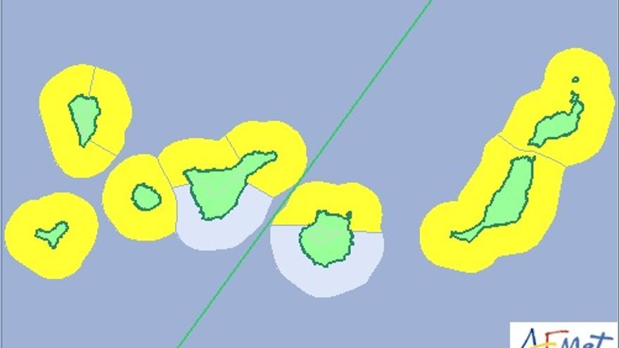 Aviso amarillo para este lunes por fenómenos costeros adversos