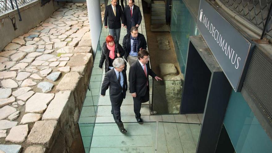 Fernández Vara Merida Patrimonio Consorcio monumentos