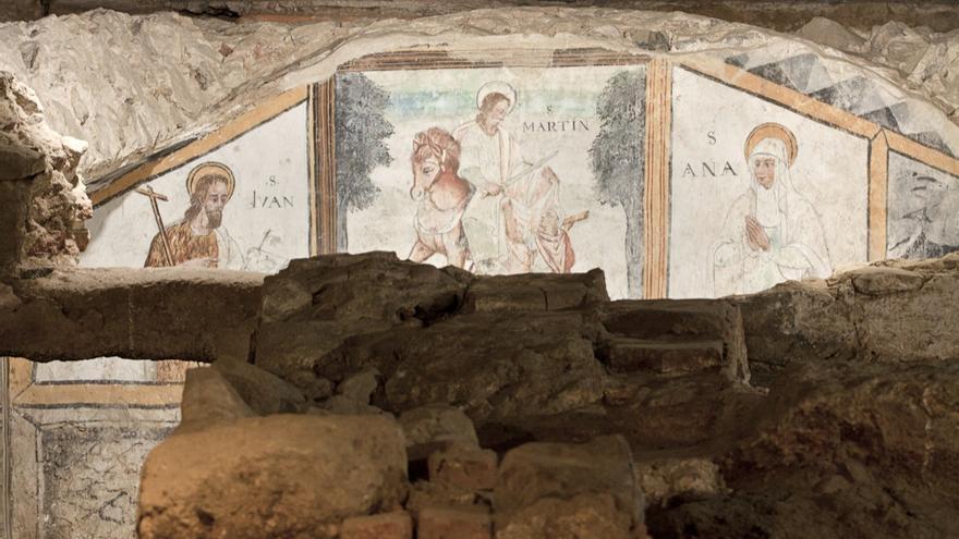 Santa Eulalia Mérida cripta